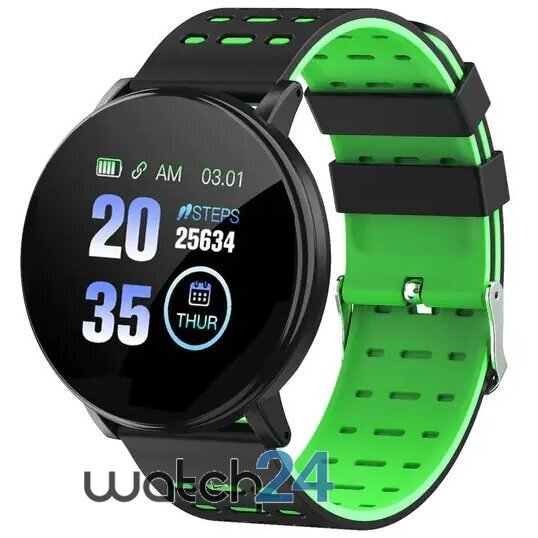 Smartwatch Generic cu Bluetooth, monitorizare ritm cardiac, notificari, functii fitness S180